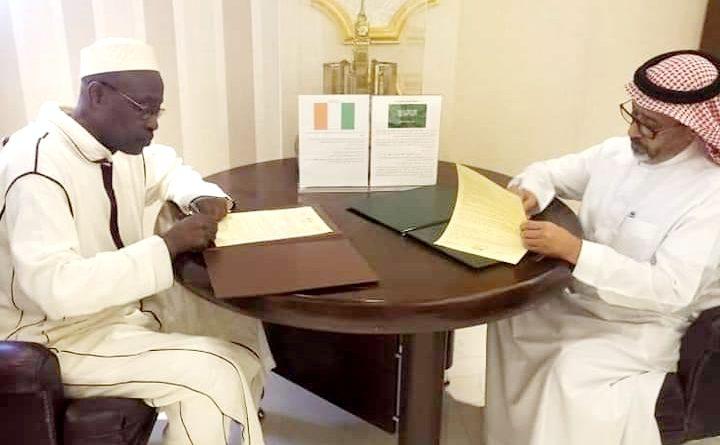 Plusieurs accords signés  pour la réussite du Hadj 2020 entre les autorités saoudiennes et ivoiriennes